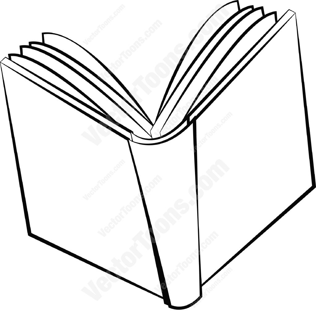 Line Art Book : Pages stock cartoon graphics vector toons