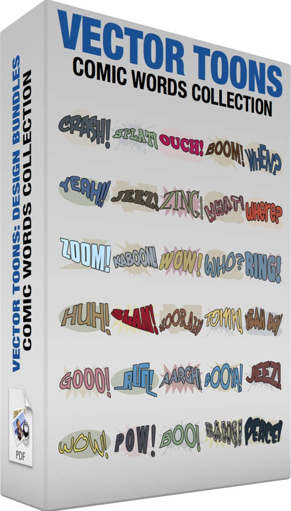 Comic words collection