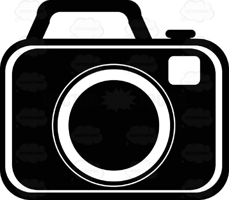 Camera Black And White Computer Icon