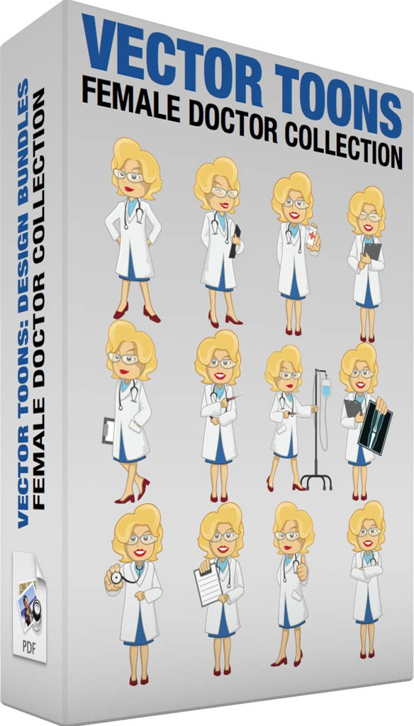 Female doctor collection