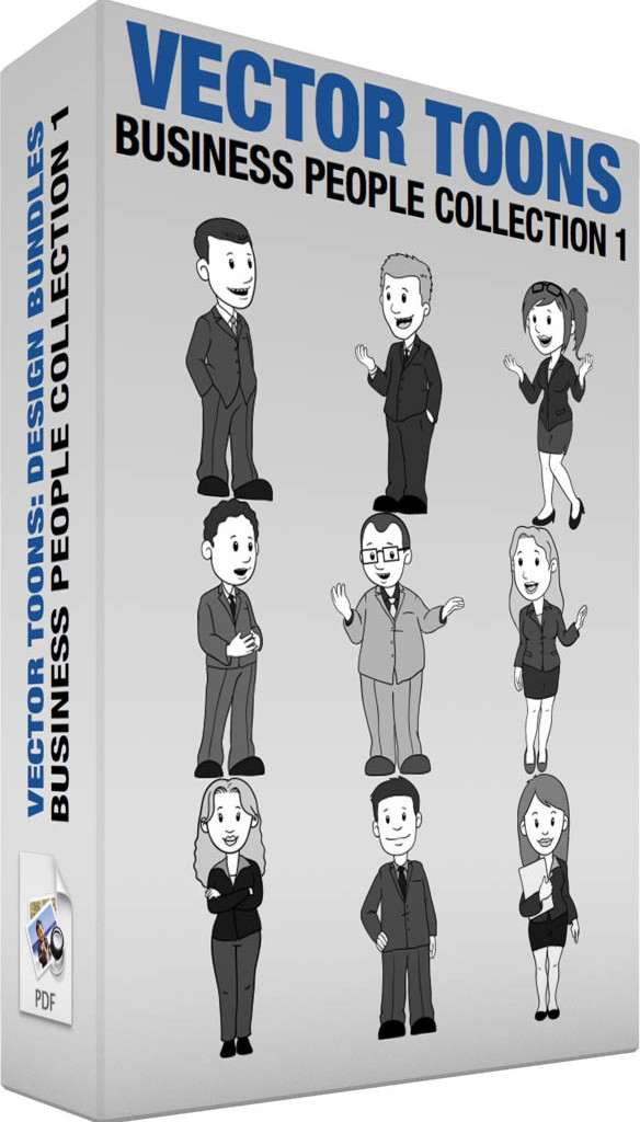 Business people collection 1