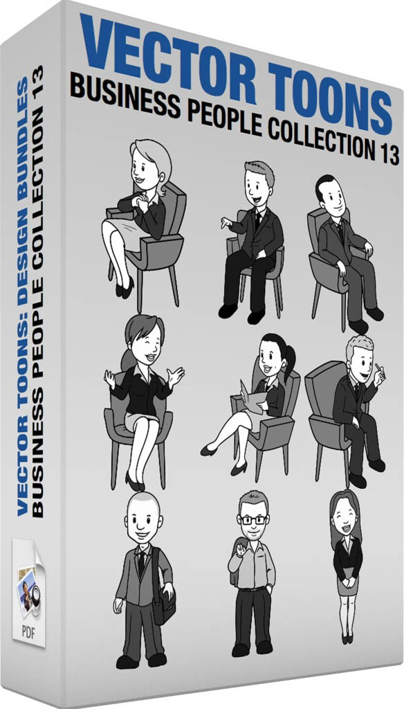 Business people collection 13