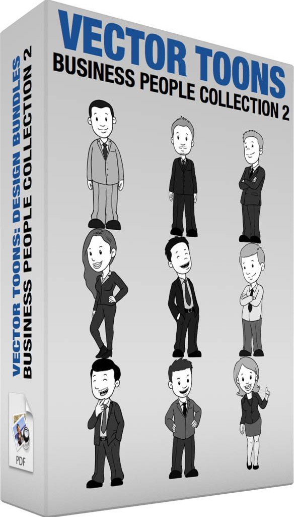 Business people collection 2