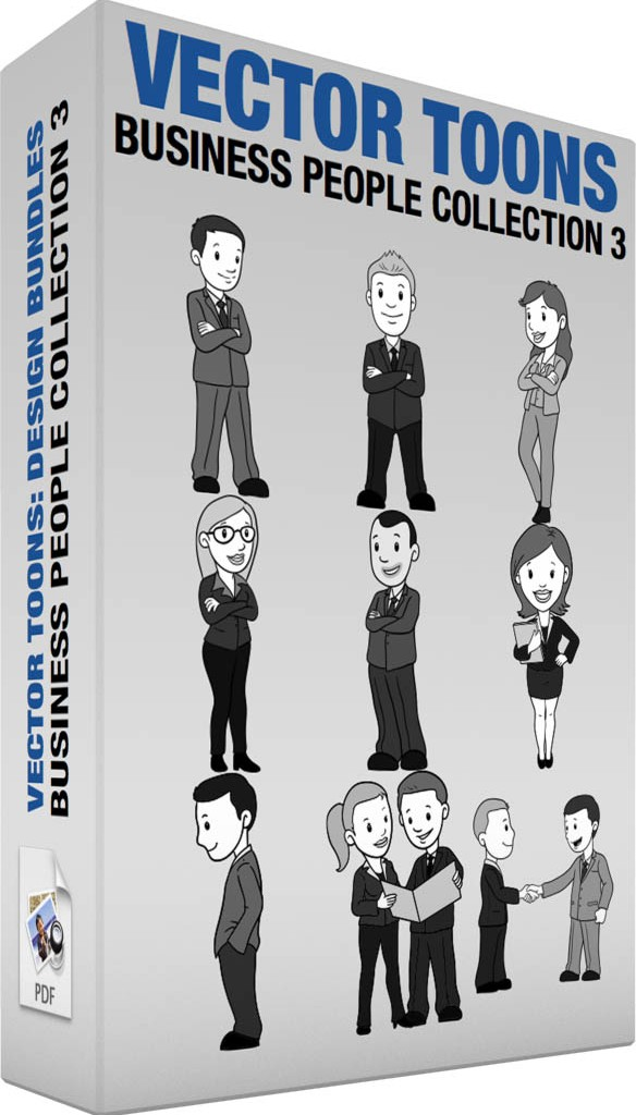 Business people collection 3