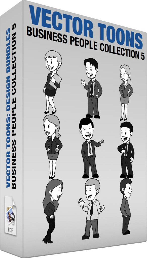 Business people collection 5