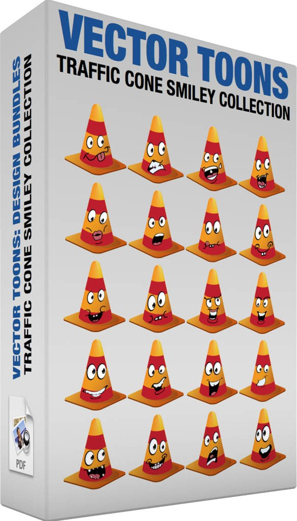 traffic-cone-smiley-collection