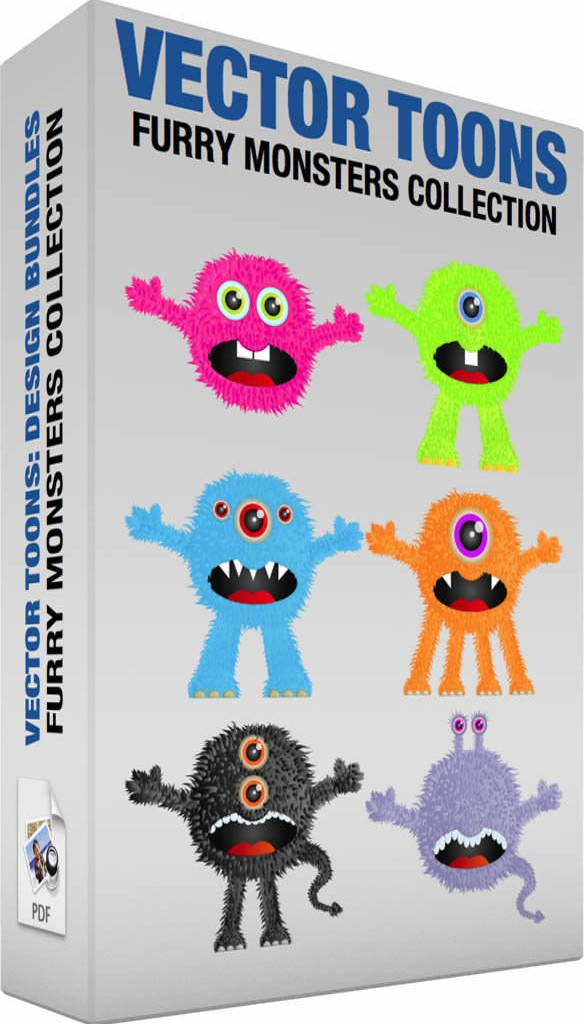Furry monsters collection