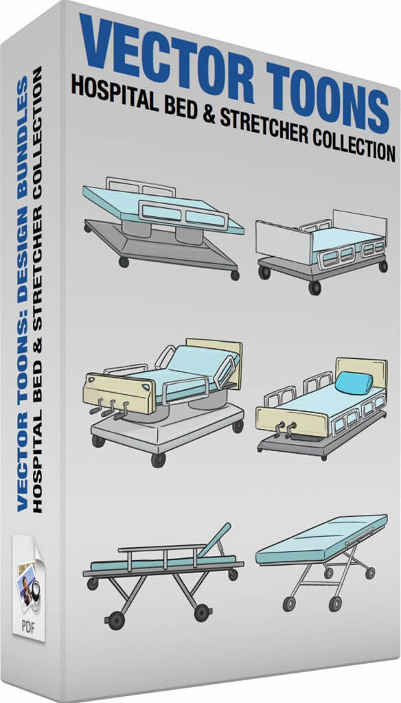 Hospital bed and stretcher collection