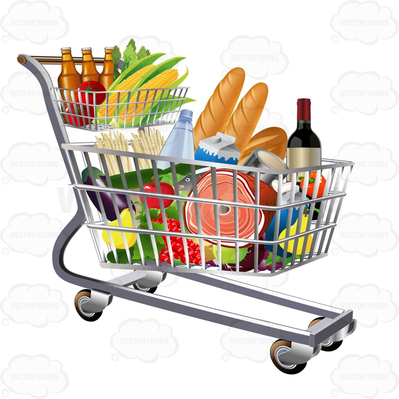 """... to review """"Grocery Cart Full Of Food"""" Click here to cancel reply"""