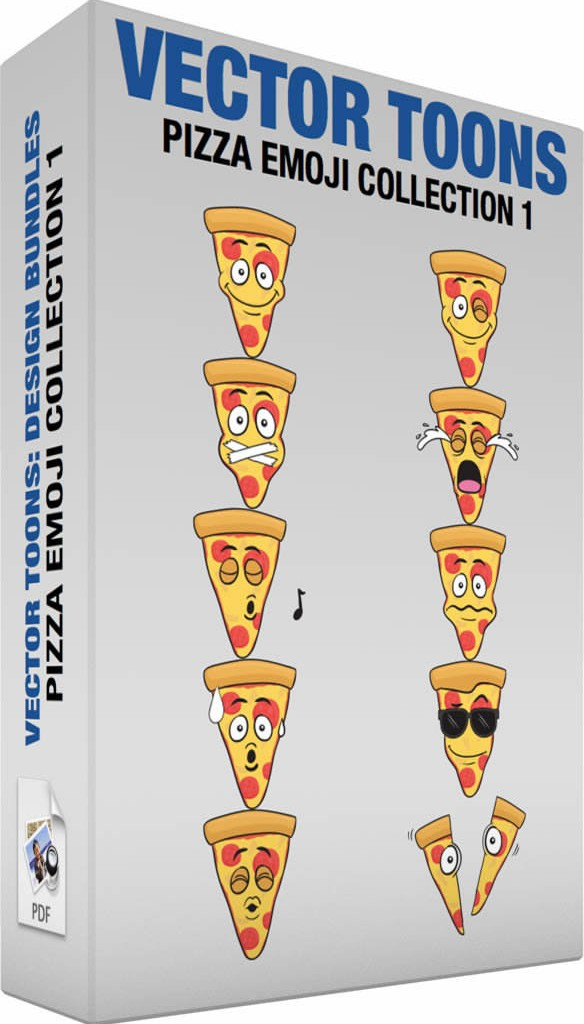 Pizza emoji collection 1