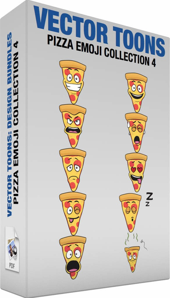 Pizza emoji collection 4