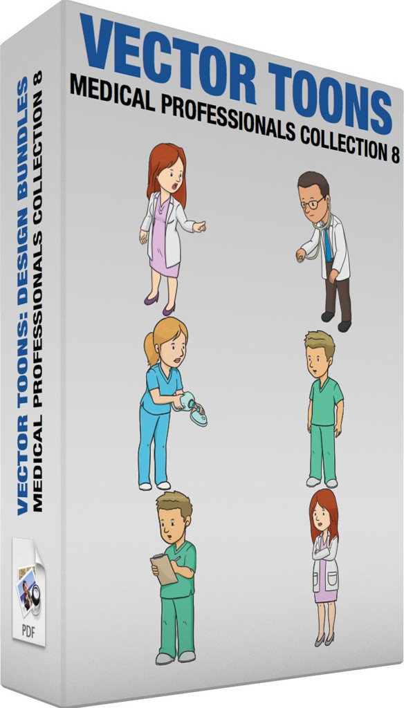 Medical professionals collection 8