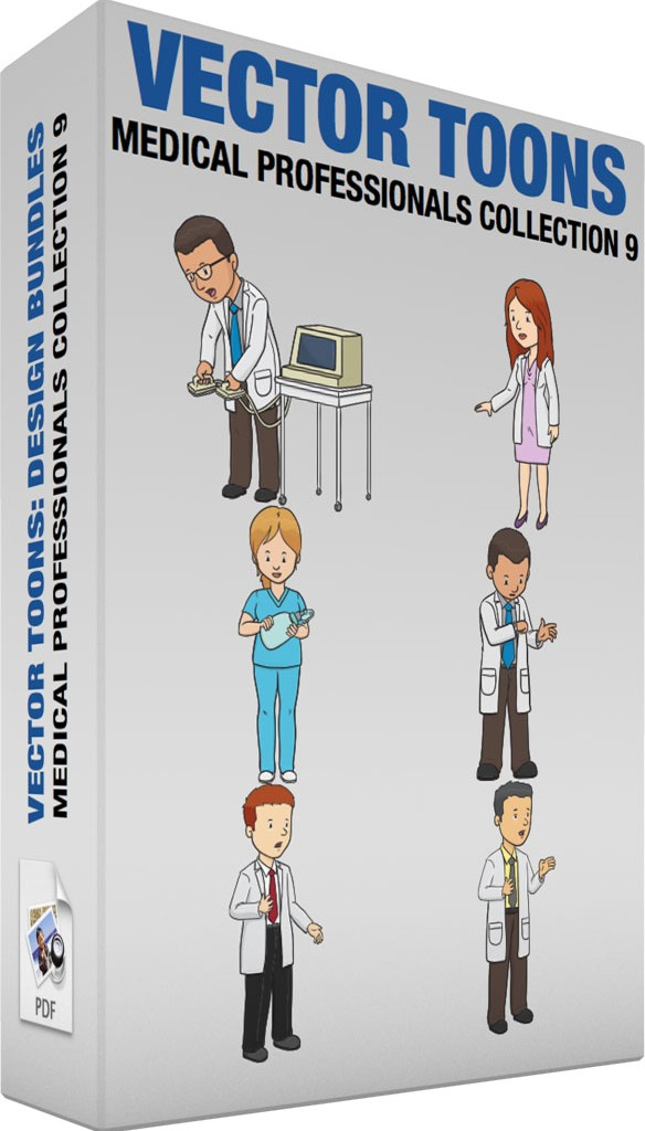 Medical professionals collection 9