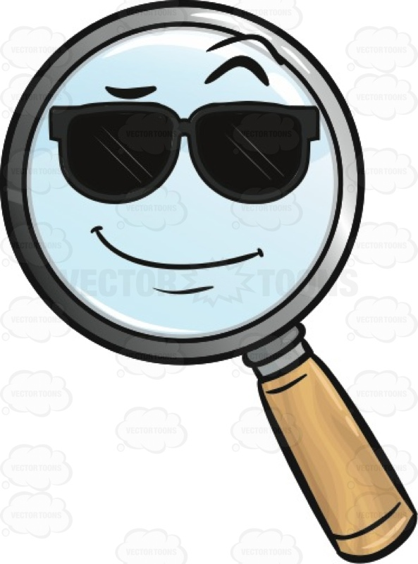 Custom Color Magnifying Glass